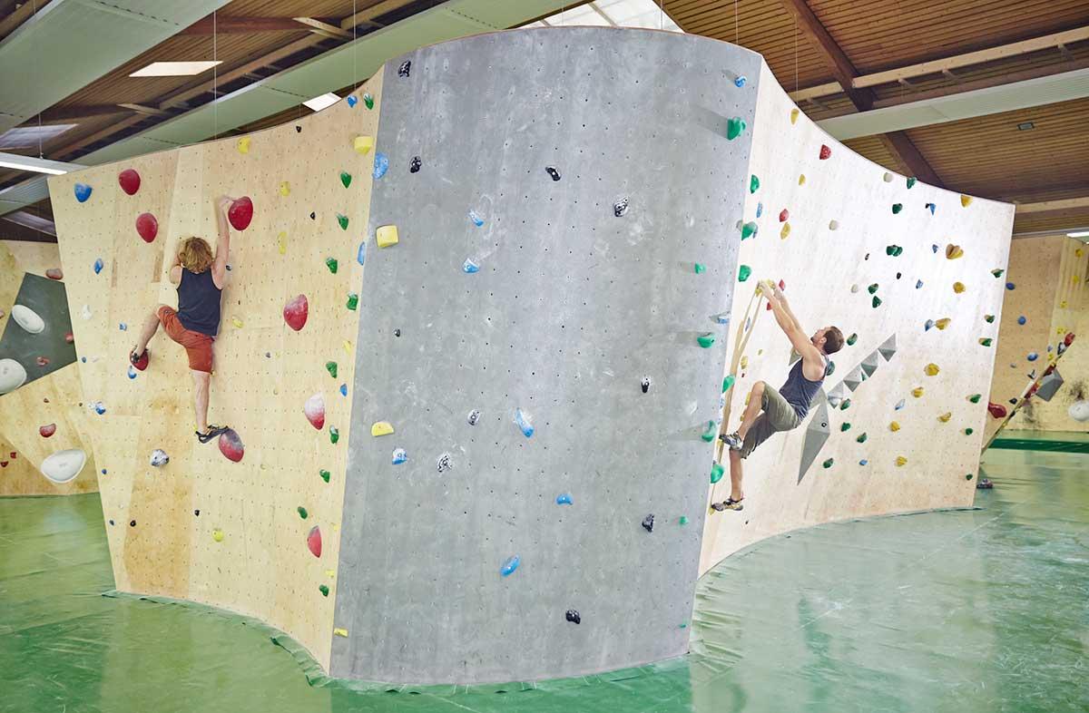 Wooden walls - T-Wall - Kletterwände und Klettergriffe (EN)